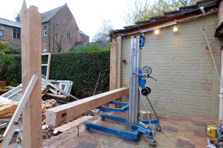 Kitchen Extension Oak Frame Construction Modern Style