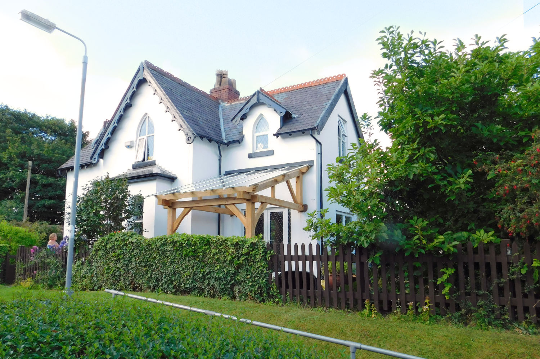 Porch, Oak Frame construction, home improvement